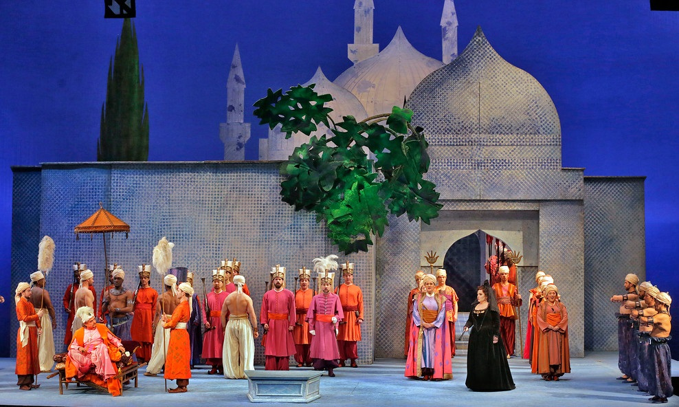 the abduction from the seraglio review