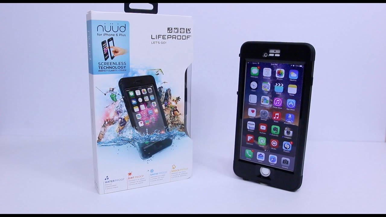 lifeproof nuud for iphone 6 plus review