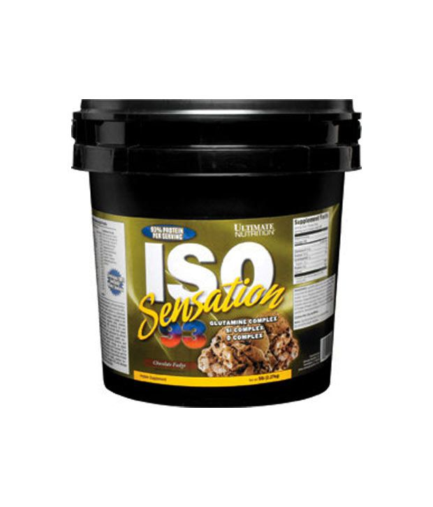 ultimate nutrition iso sensation 93 review