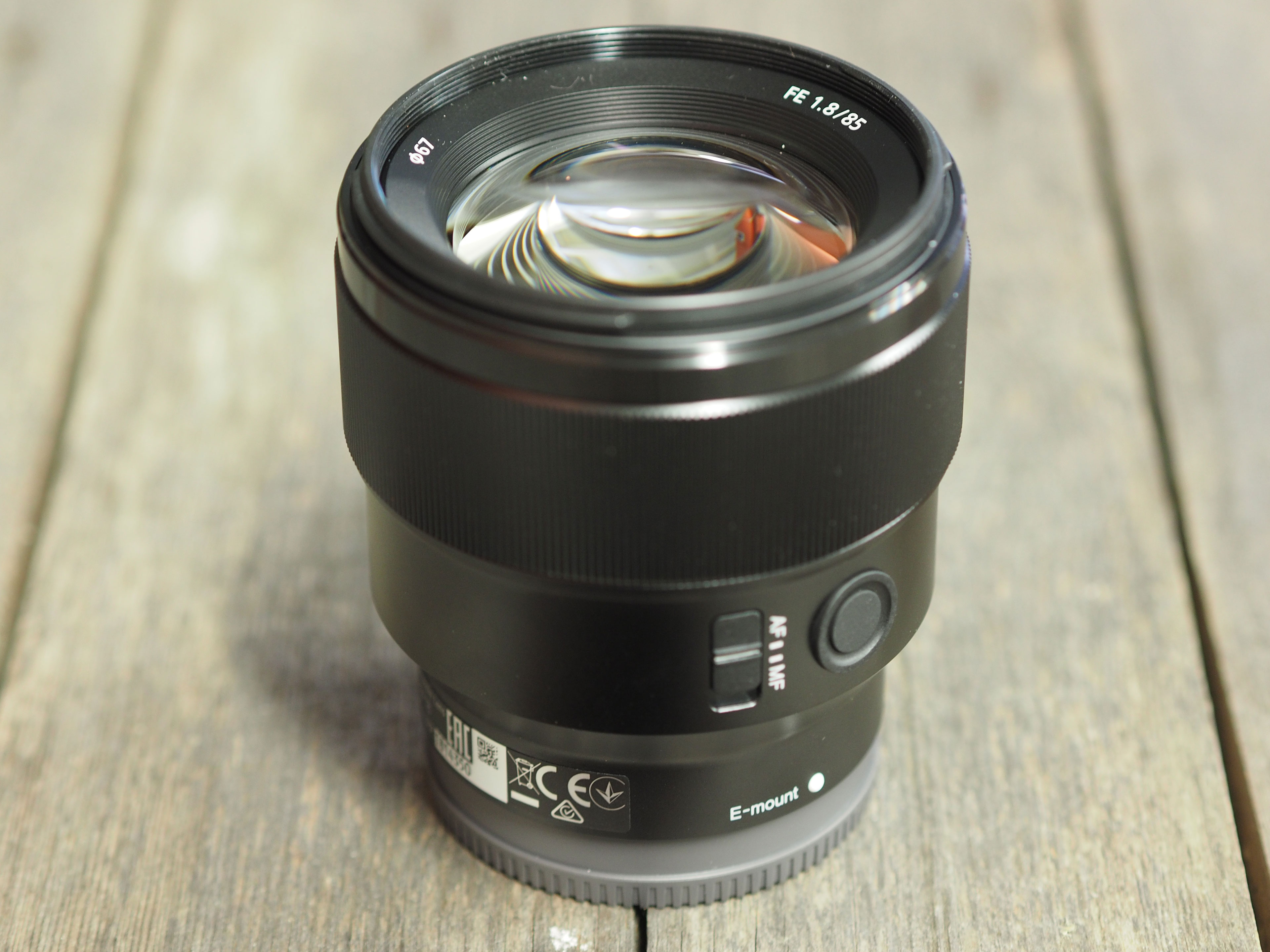 sony fe 85mm f1 8 review