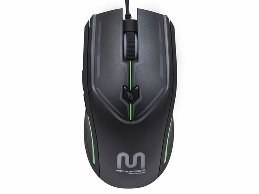 monoprice 6 key gaming mouse review