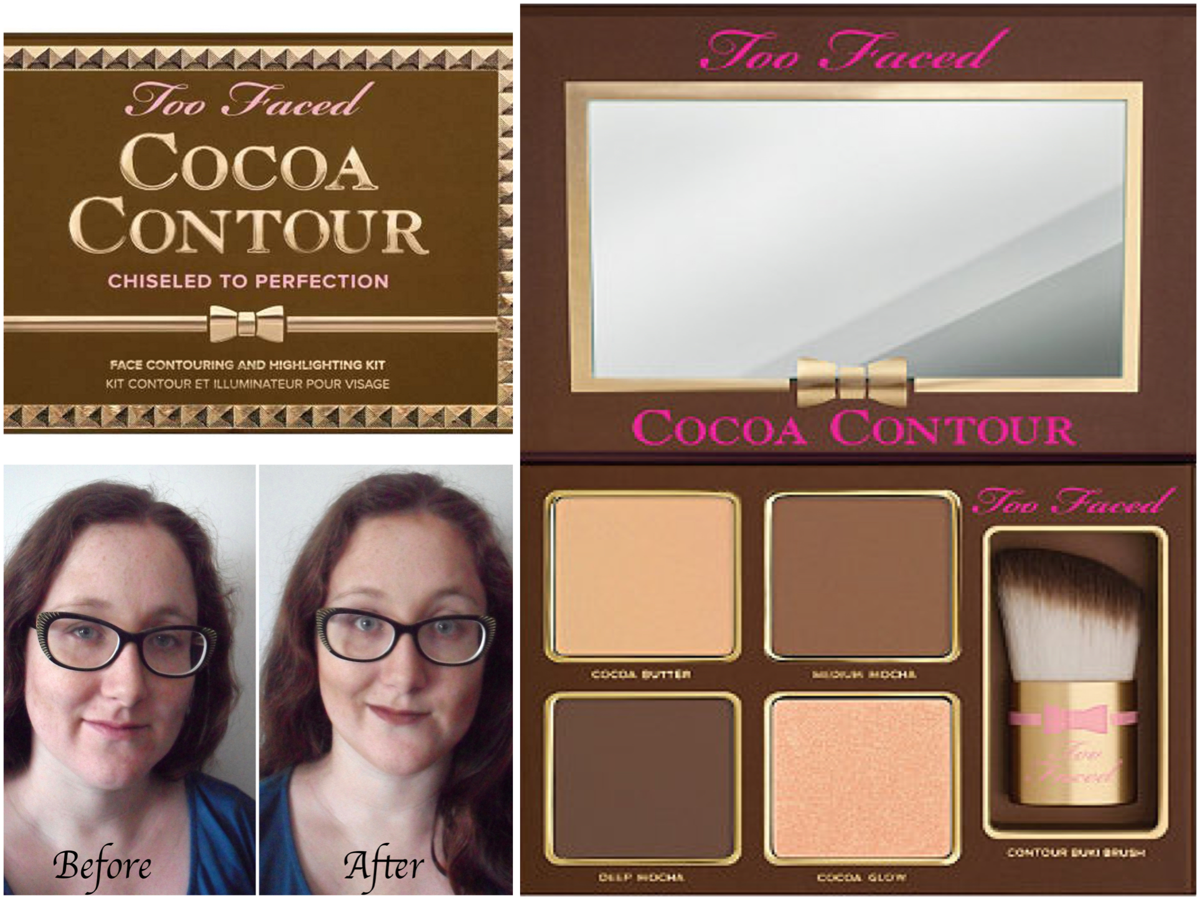 two faced cocoa contour review