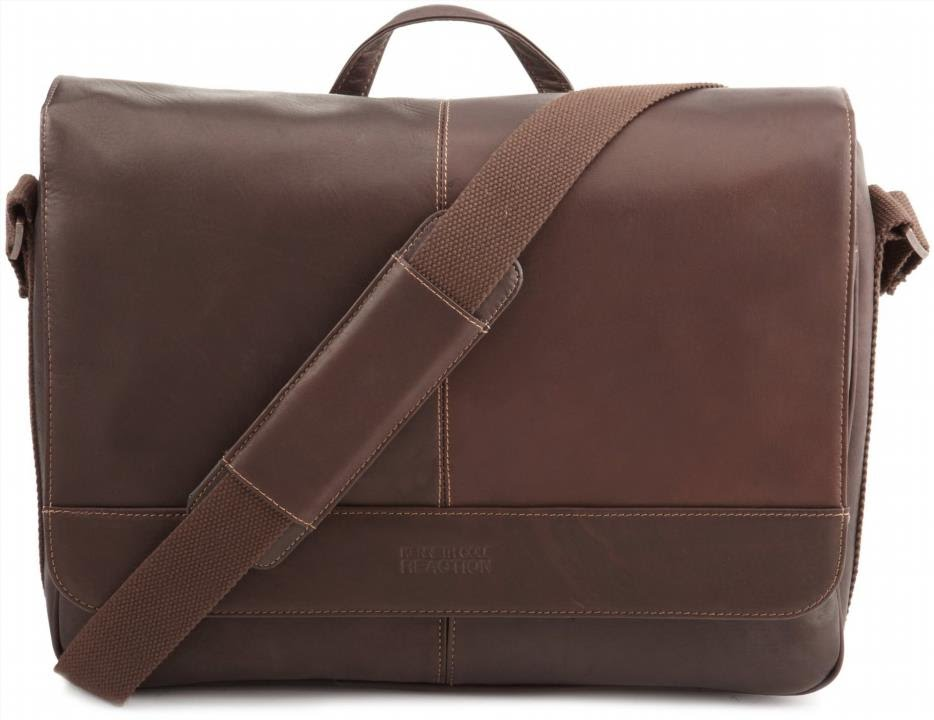 kenneth cole reaction messenger bag review