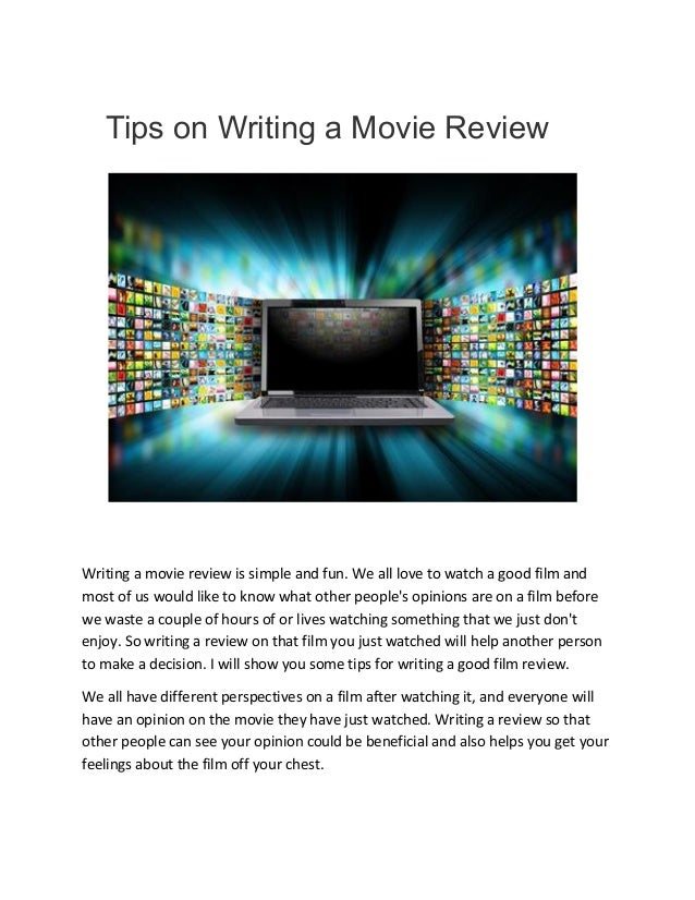 how to write a conclusion for a movie review