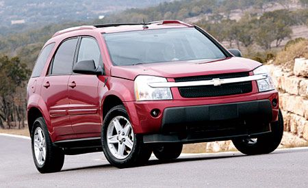 used 2005 chevy equinox reviews