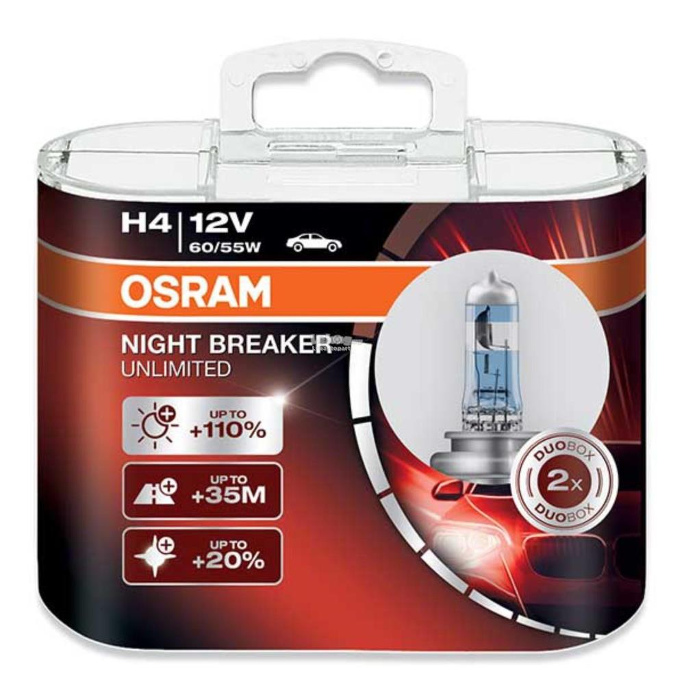 osram night breaker unlimited h4 review