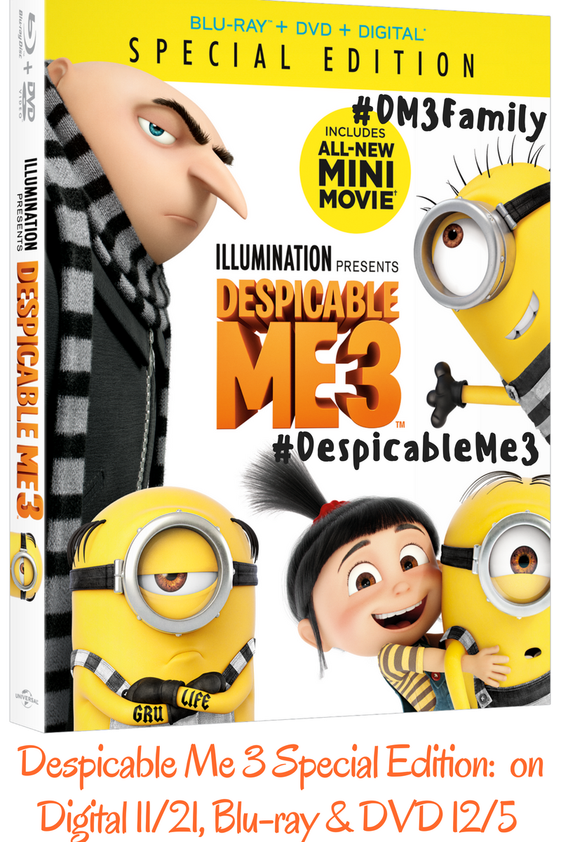 review of despicable me 3