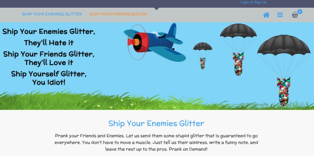 ship your enemies glitter review