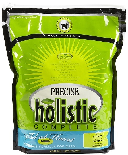 precise holistic complete cat food review