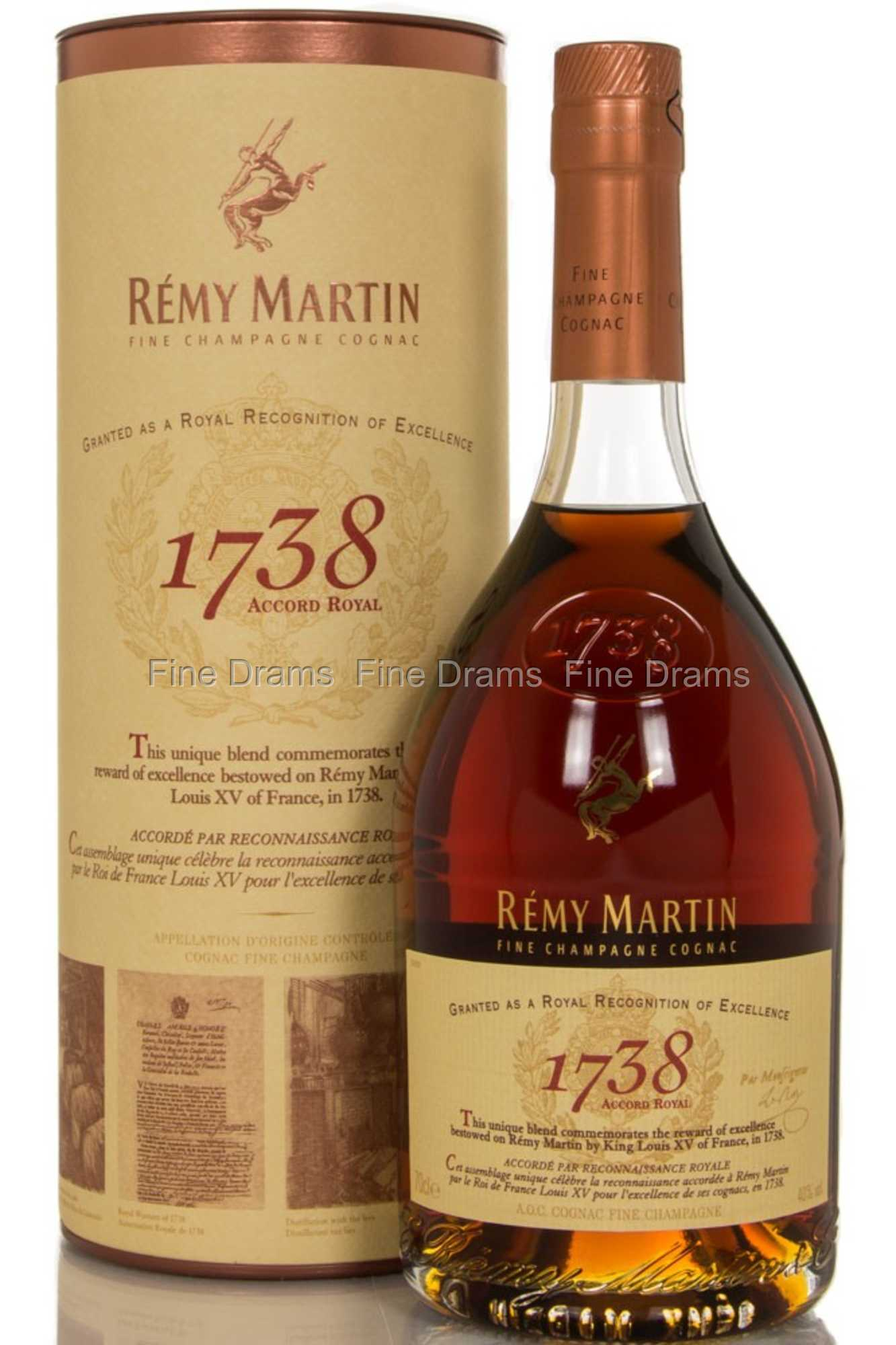 remy martin 1738 accord royal cognac review