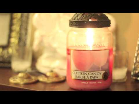 yankee candle cotton candy review