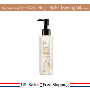 the face shop rice water bright cleansing rich oil review