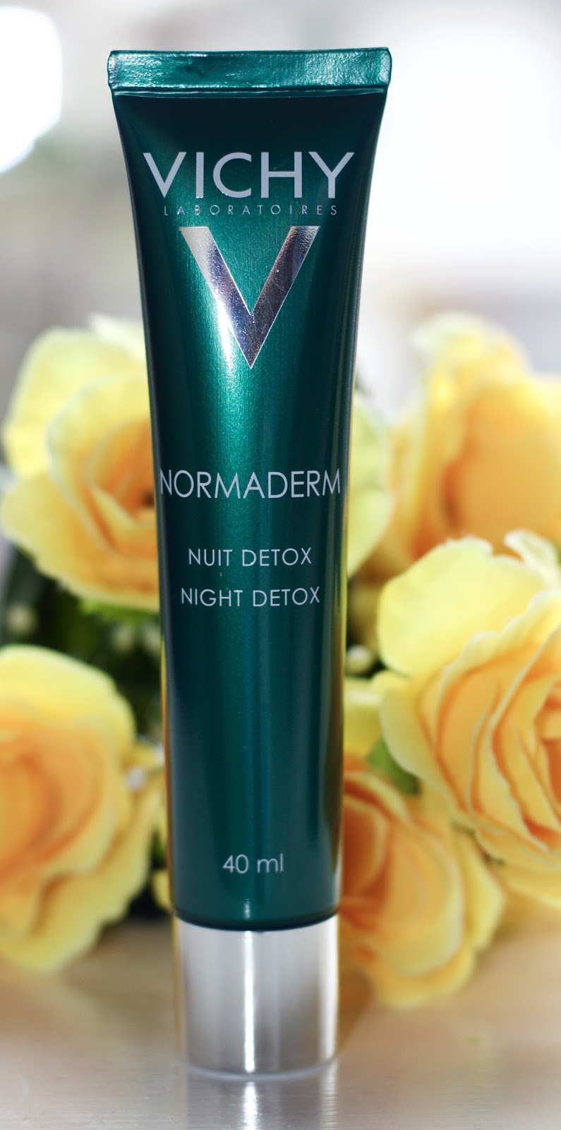 vichy normaderm night detox cream review