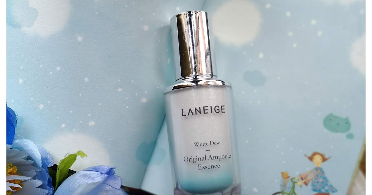 laneige white dew essence review