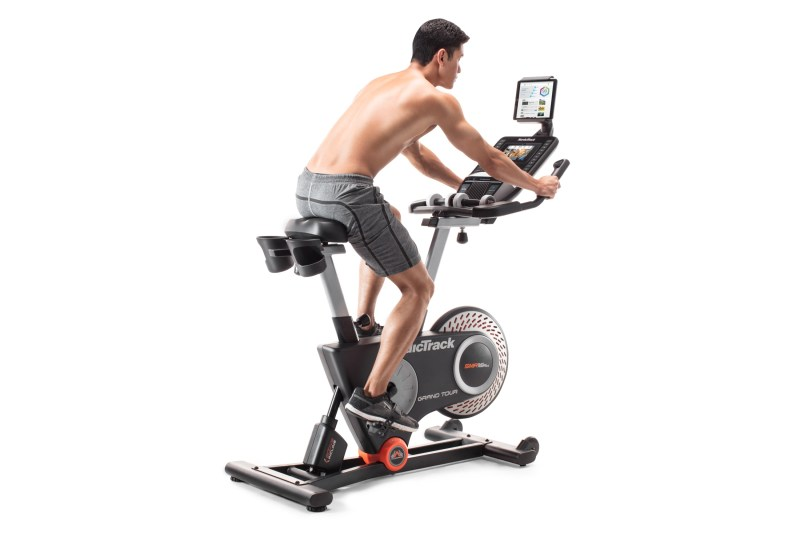 nordictrack grand tour upright spinning bike review