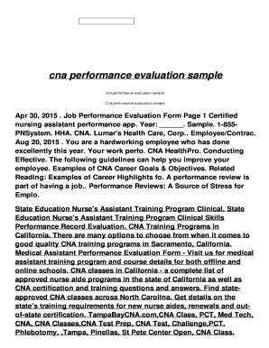 sample employee review and performance evaluation