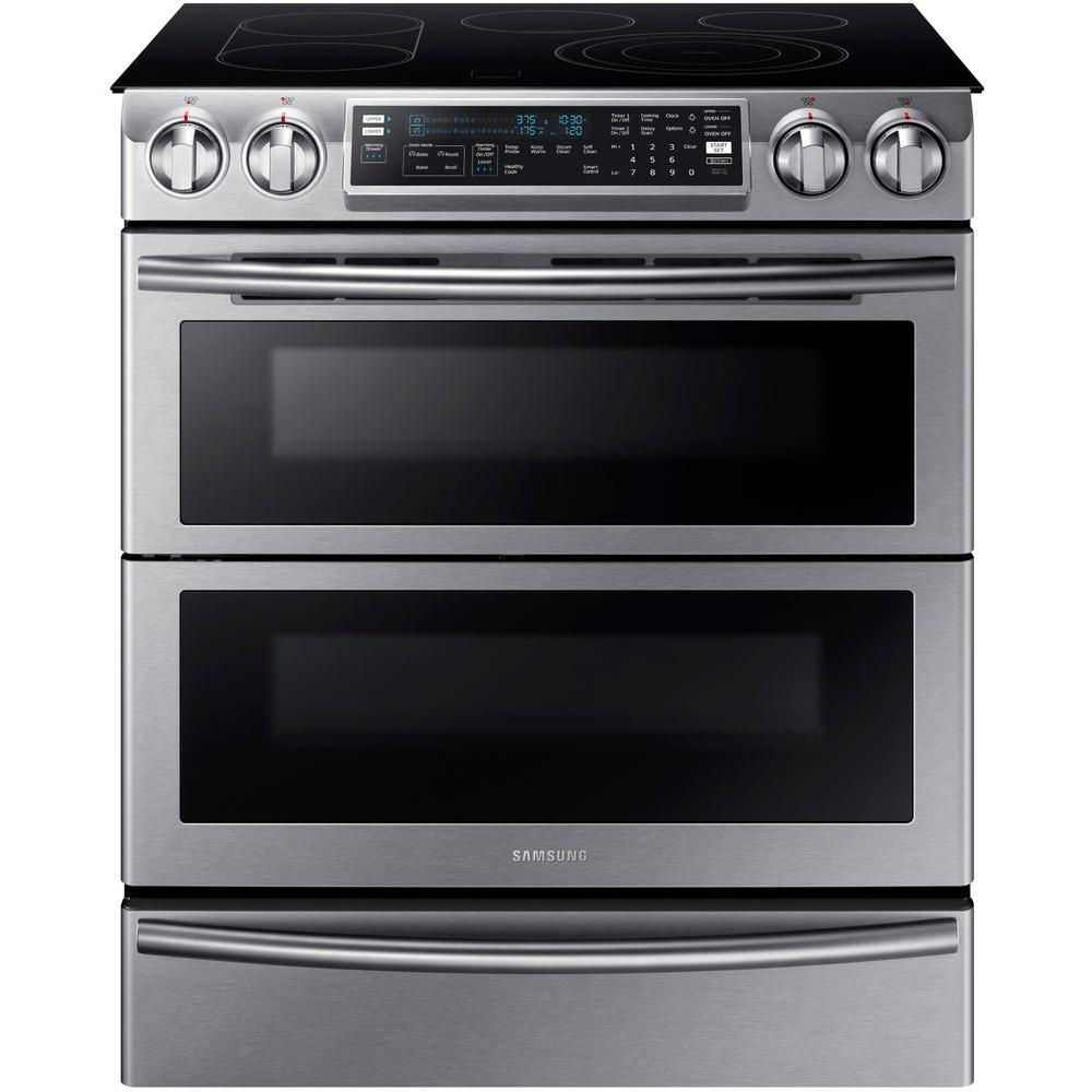 samsung 30 flex duo convection slide in electric range reviews
