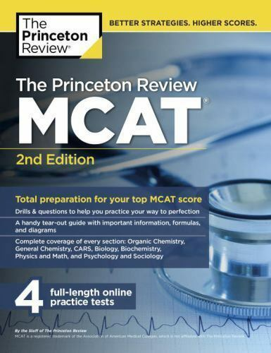 the princeton review mcat study schedule