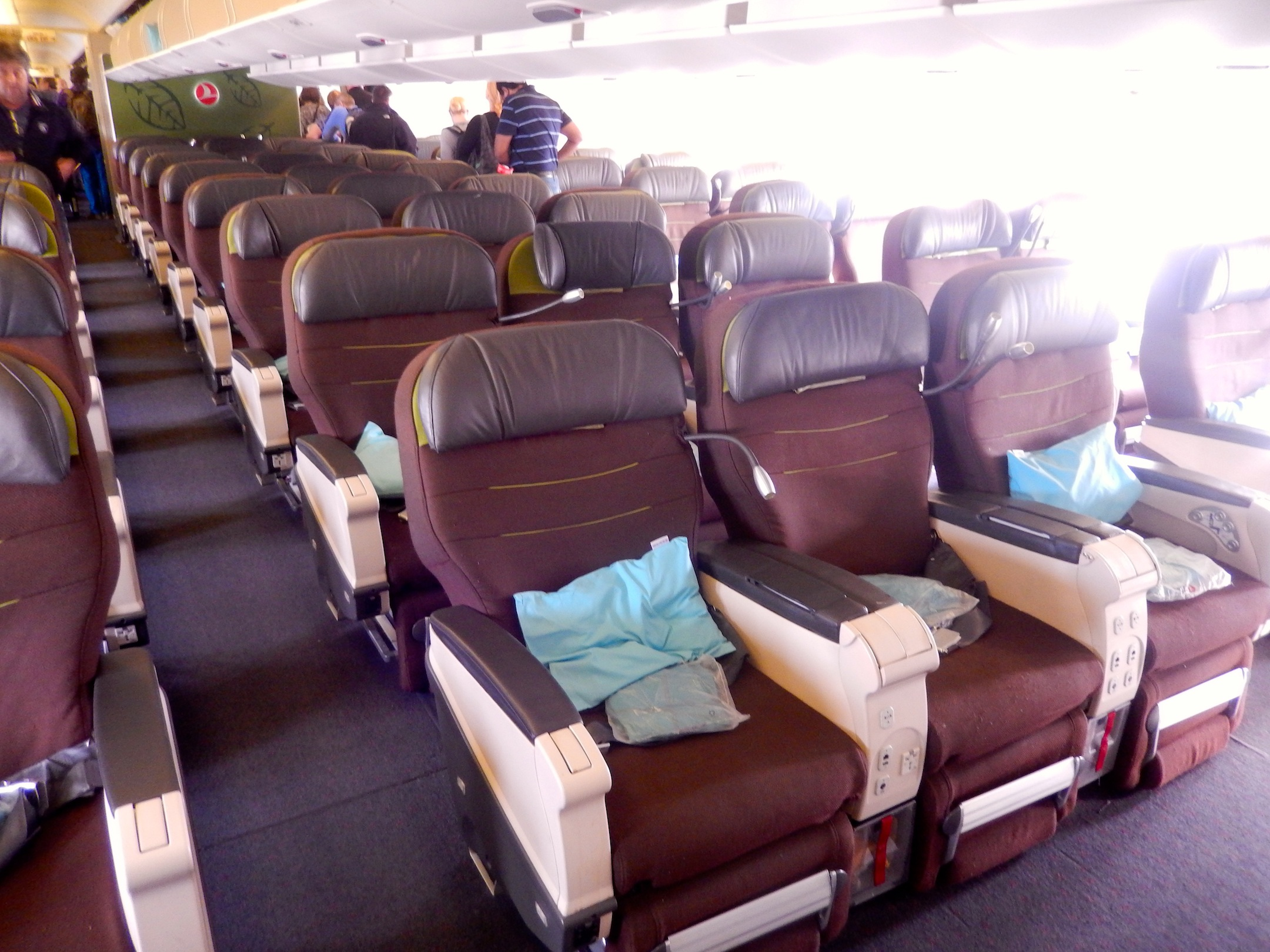 turkish airlines comfort class review