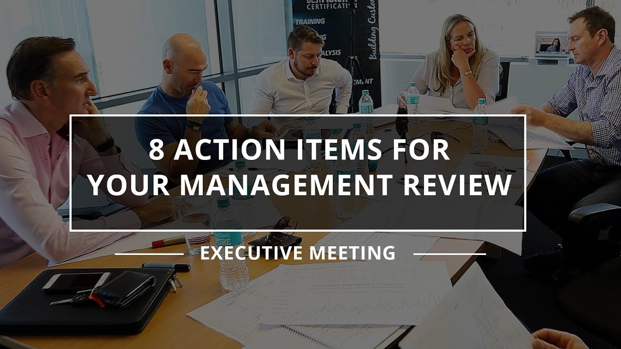 what is management review meeting